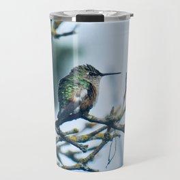 Ruffled Hummingbird Travel Mug