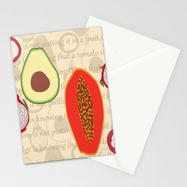 Fruit salad Stationery Cards
