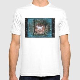 The White Deer Of Winter T-shirt