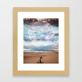Siren Call Framed Art Print
