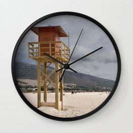 Los LAnces beach, Tarifa Wall Clock