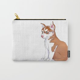 Husky Pup Carry-All Pouch