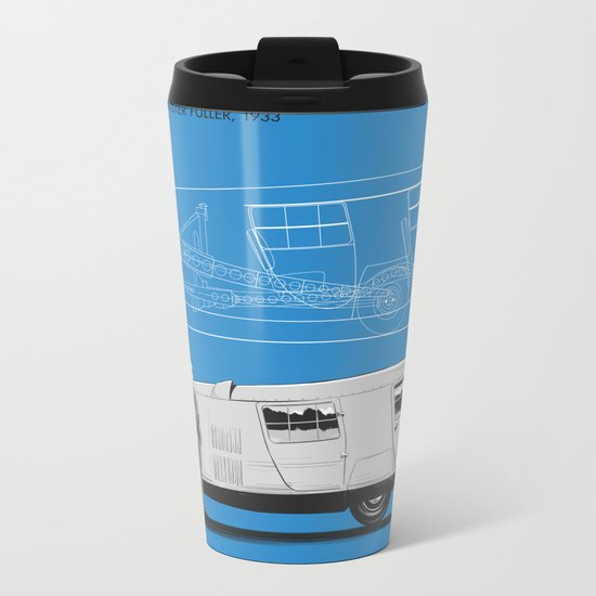 Dymaxion Metal Travel Mug