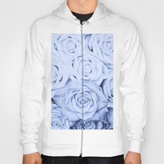 Some people grumble - Blue Rose, roses Hoody