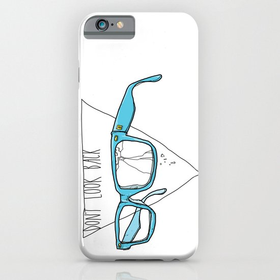 Don't Look Back iPhone & iPod Case