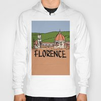 florence Hoodies featuring Florence by Logan_J