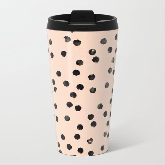dots II Metal Travel Mug