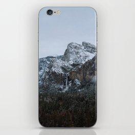 Snow in Yosemite Valley iPhone Skin