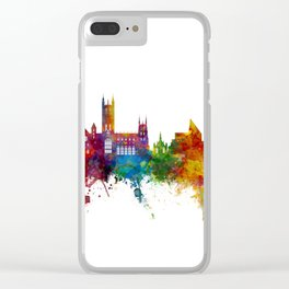 Canterbury England Skyline Clear iPhone Case