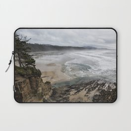 Lookout Point near Otter Rock Laptop Sleeve