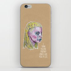 Yo-Landi Visser iPhone & iPod Skin