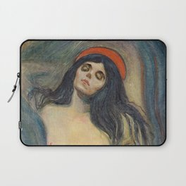 Madonna by Edvard Munch Laptop Sleeve
