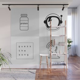 Protein quiz Wall Mural