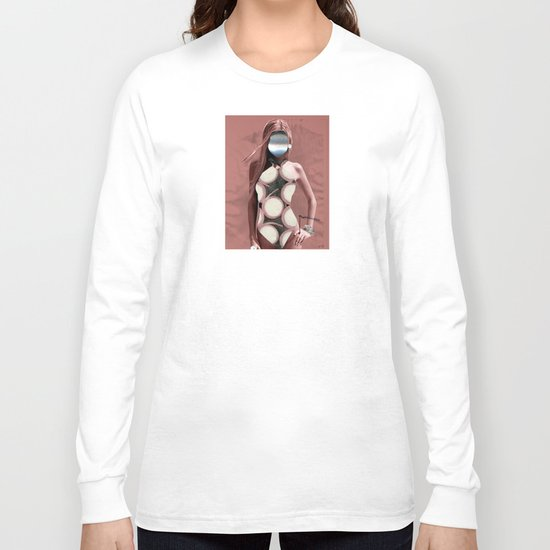 Fleisches Lust 7 - meat Collage Long Sleeve T-shirt