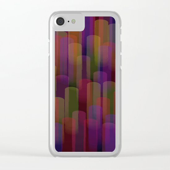Abstract 101 Clear iPhone Case
