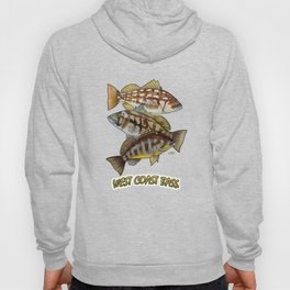 Pacific Bass Trio Hoody