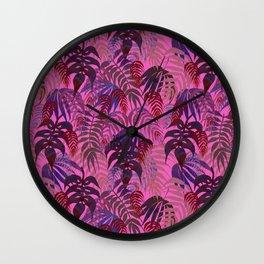 LOST - Magenta Wall Clock