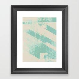winter_abstract Framed Art Print