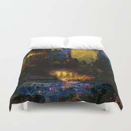 Between dawn and dusk Duvet Cover