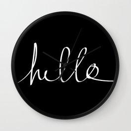 Hello Wall Clock