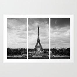 Paris Trifecta Art Print