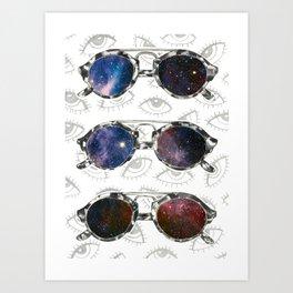 Sunglasses 1 Art Print
