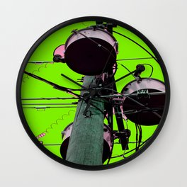 Industrial Electric Musings Wall Clock