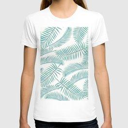 Palm Leaf Pattern Island Paradise T-shirt