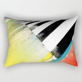 Urban Street Art Painting Rectangular Pillow