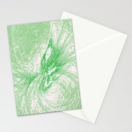 Splatter in Limeade  Stationery Cards