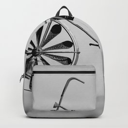 Day 1 of 7 Day B & W Challenge Backpack