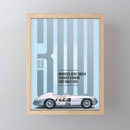 300SLR Tribute Framed Mini Art Print