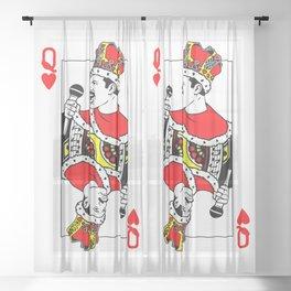 Freddie Card Sheer Curtain