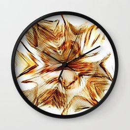 Incomplete Disturbed Mandala Wall Clock