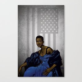 First Sister Lady Canvas Print