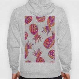 Geometric Pineapples Summer Print Hoody