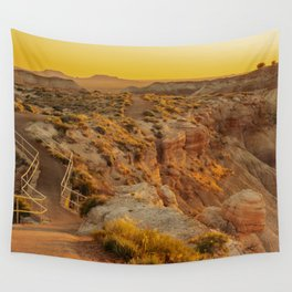 Blue Mesa Trailhead at Petrified Forest National Park Wall Tapestry