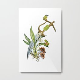 Die By The Sword Metal Print