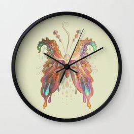 Monarch Butterfly of Spades Wall Clock
