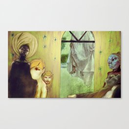 Flowers in the Attic Canvas Print