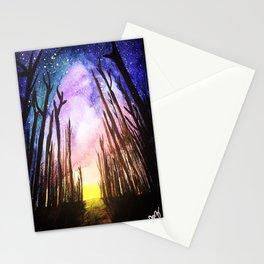 Twilight Woods Stationery Cards
