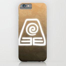 Avatar Earth Bending Element Symbol iPhone Case