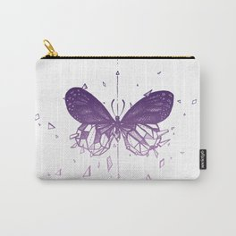 Geometric Butterfly - Pink Palette Carry-All Pouch