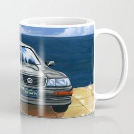 Street Fighter II Bonus Stage Car Coffee Mug