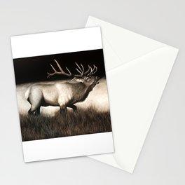 Bull Elk Stationery Cards