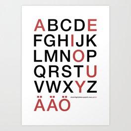 Helvetica Poster Art Print