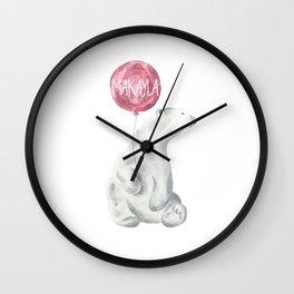 mak 3 Wall Clock