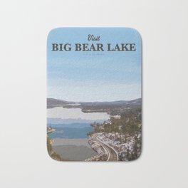 Visit Big Bear Lake Bath Mat