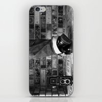 old school iPhone & iPod Skins featuring old school by Jennifer Townsend