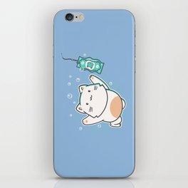 Nevermind Cat iPhone Skin